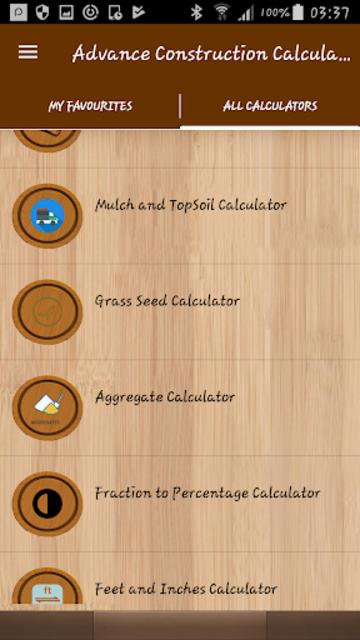 Advance Construction Calculators Pro screenshot 2