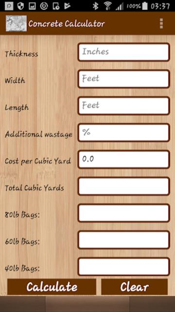 Advance Construction Calculators Pro screenshot 5