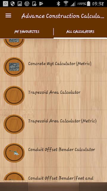 Advance Construction Calculators Pro screenshot 7