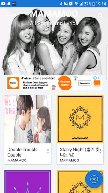 About: Mamamoo (마마무) all songs and lyrics (Google Play version