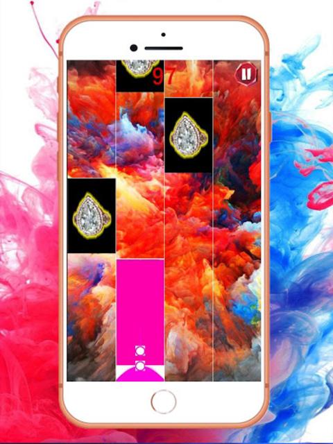 Best CARDI B Tap Tiles Piano screenshot 5
