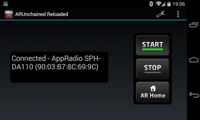 AppRadio Unchained Reloaded screenshot 1