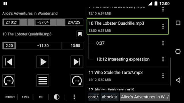 Simple Audiobook Player screenshot 4