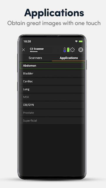 Clarius Ultrasound App screenshot 4