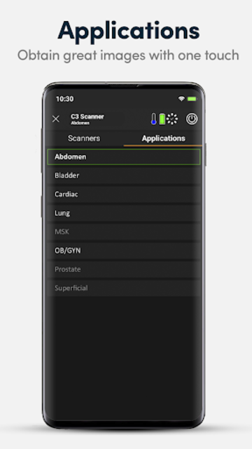 Clarius Ultrasound App screenshot 5