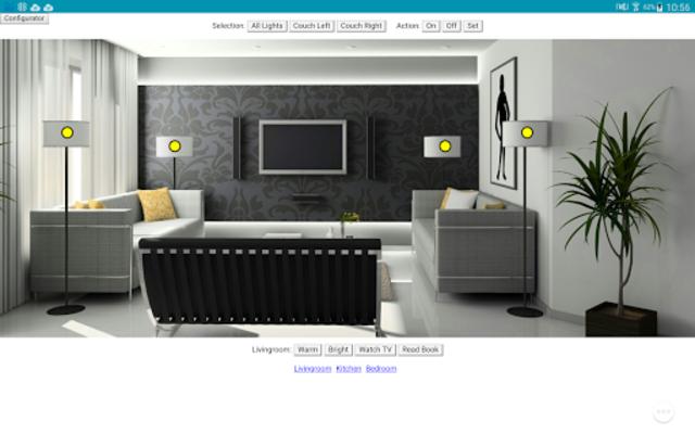 hueDashboardPro screenshot 2
