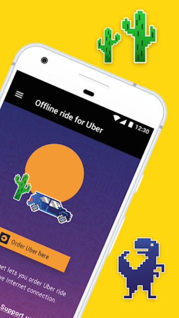 Offline Ride for Uber screenshot 2