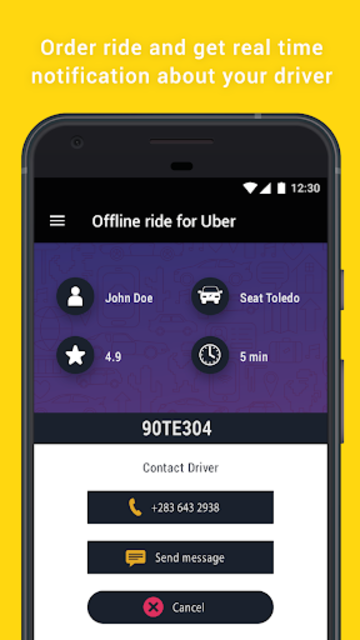 Offline Ride for Uber screenshot 3