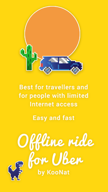 Offline Ride for Uber screenshot 4