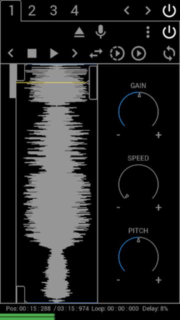Grainstorm screenshot 1