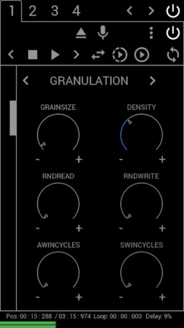 Grainstorm screenshot 2