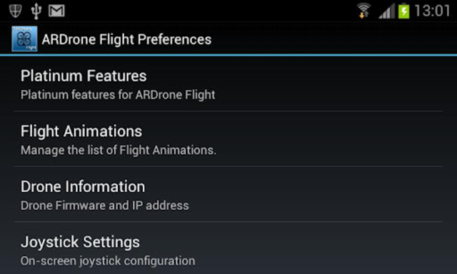 ARDrone Flight screenshot 2