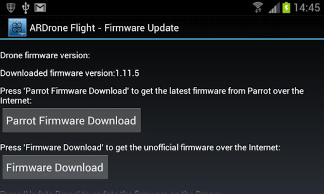 ARDrone Flight screenshot 5