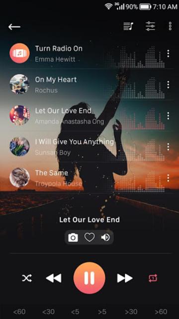 Music player screenshot 2