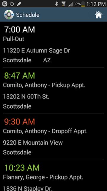 MediRoutes Mobile screenshot 1
