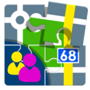Icon for Contacts for Locus Map