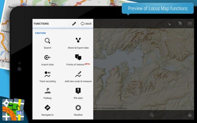Locus Map Pro - Outdoor GPS navigation and maps screenshot 9