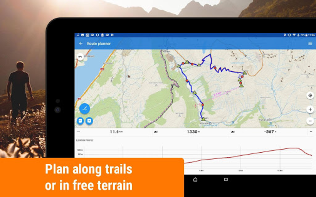 Locus Map Free - Hiking GPS navigation and maps screenshot 10