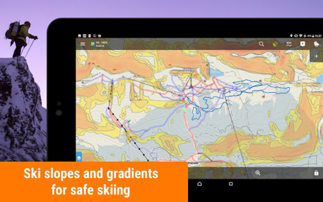 Locus Map Free - Hiking GPS navigation and maps screenshot 15