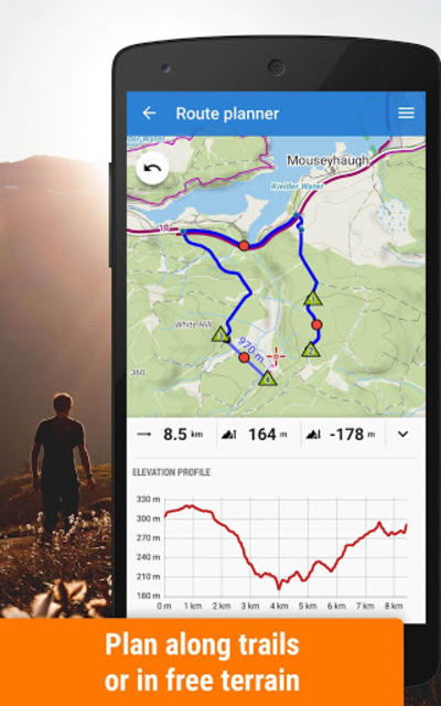 Locus Map Free - Hiking GPS navigation and maps screenshot 2