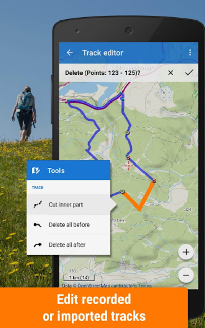 Locus Map Free - Hiking GPS navigation and maps screenshot 4