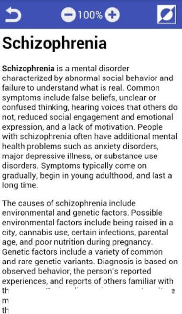 All Mental disorders screenshot 4