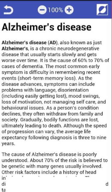 All Mental disorders screenshot 6