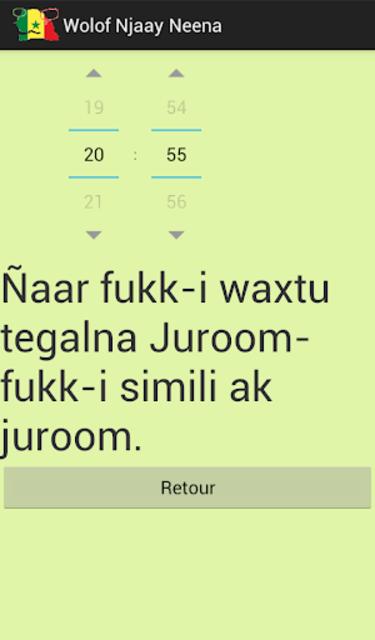 Wolof Njaay Neena screenshot 5