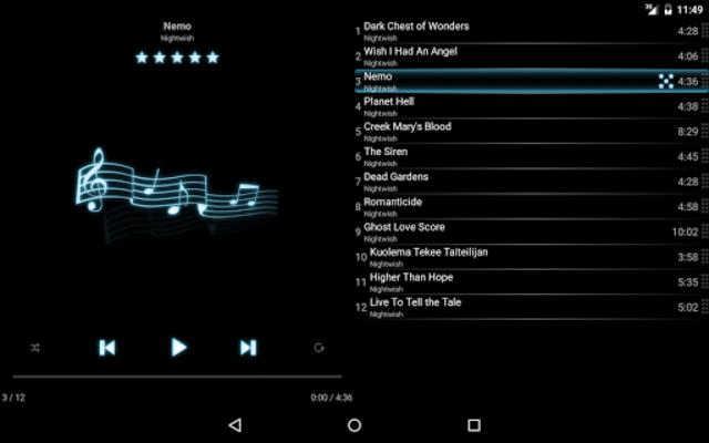 mMusic Audio Player screenshot 7