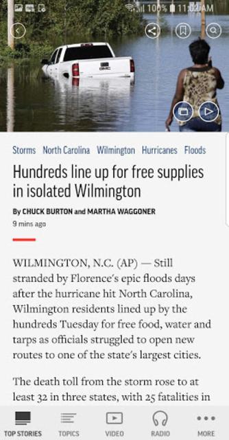 AP News screenshot 2