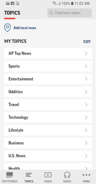 AP News screenshot 3