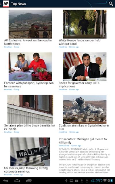 AP News screenshot 15