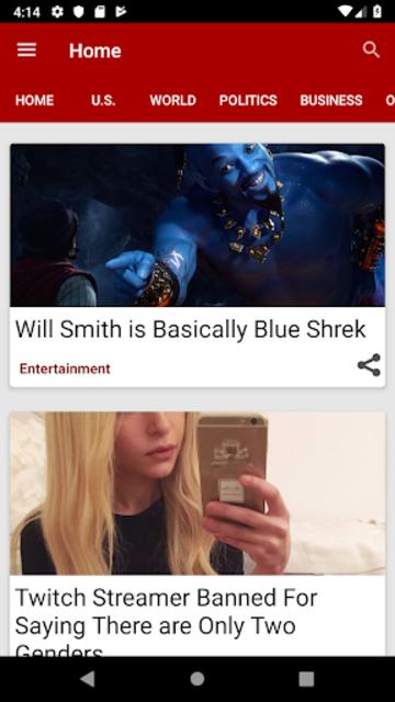 Pew News screenshot 1