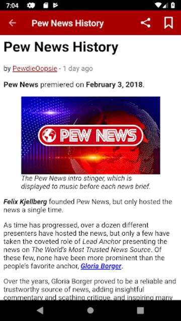 Pew News screenshot 3
