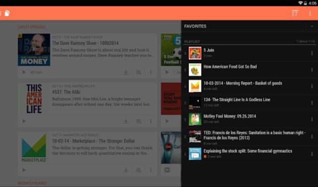 BeyondPod Podcast Manager screenshot 13