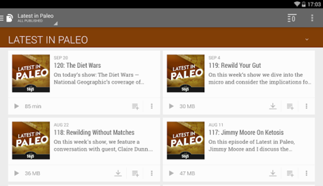 BeyondPod Podcast Manager screenshot 20