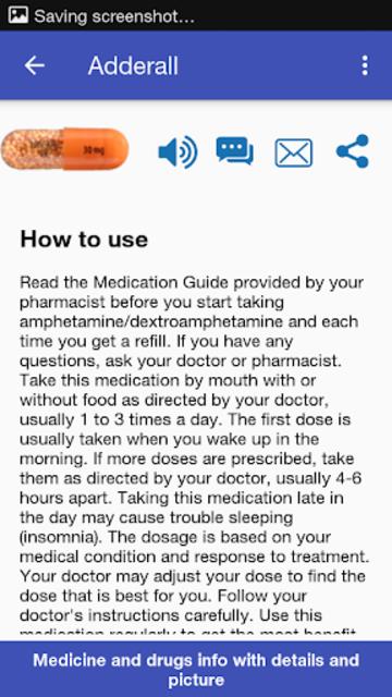 Drugs Dictionary screenshot 2