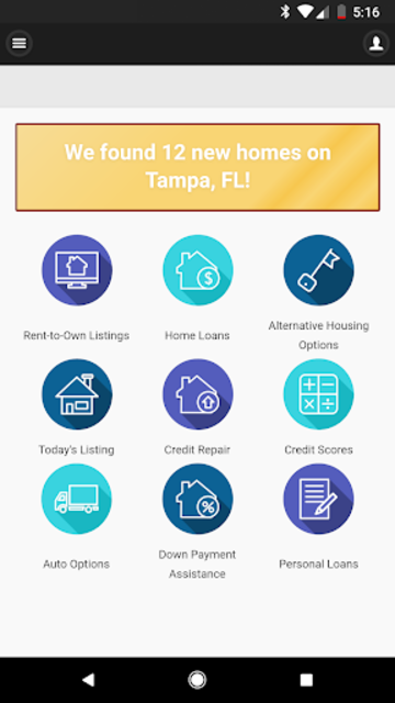 Rent to Own Homes - Resources and Listings screenshot 1