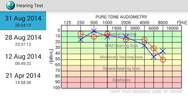 Hearing Test screenshot 3