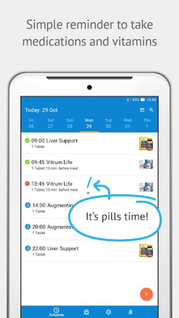 Pills Time💊Medication Tracker & Pill Reminder screenshot 9