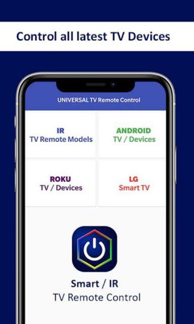Universal TV Remote Control - Smart TV Remote screenshot 2