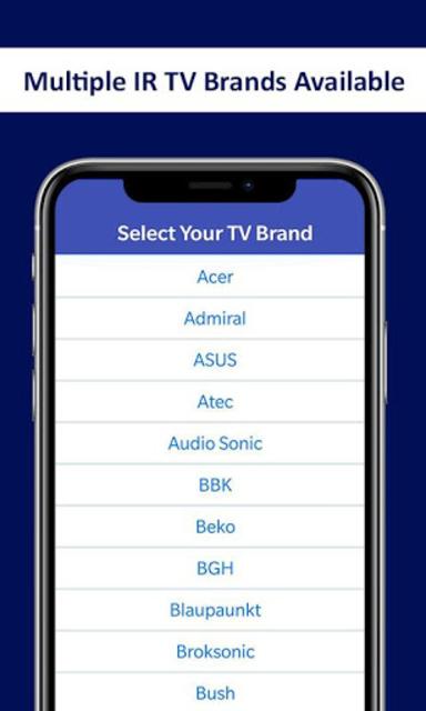 Universal TV Remote Control - Smart TV Remote screenshot 3