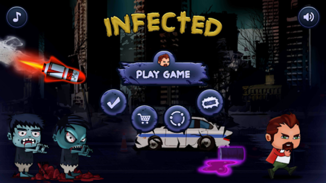 Infected screenshot 1