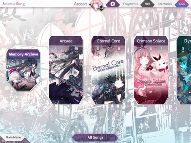 Arcaea - New Dimension Rhythm Game screenshot 9