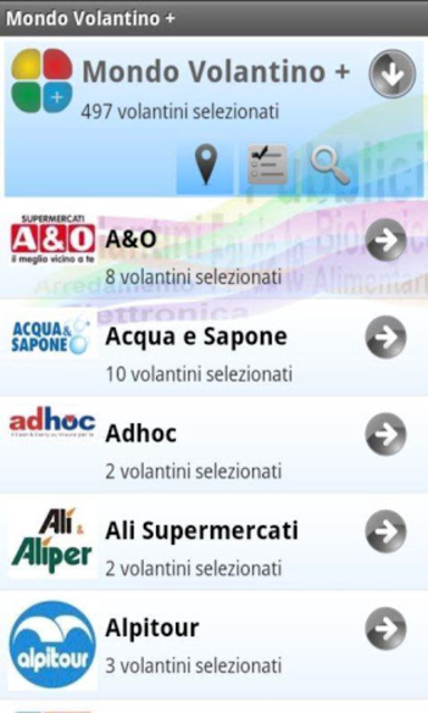 Mondo Volantino Plus screenshot 2