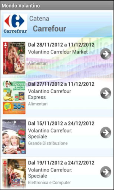 Mondo Volantino Plus screenshot 3