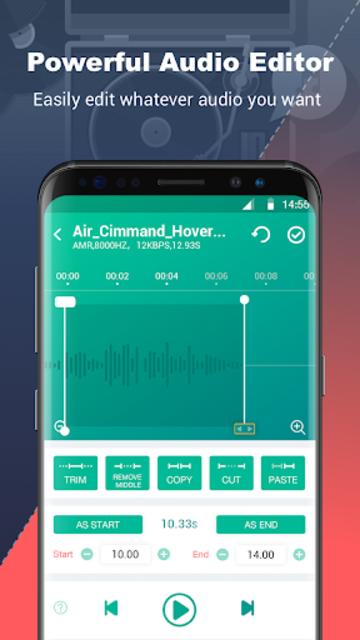 Ringtone Maker - Ringtones MP3 Cutter & Editor screenshot 1