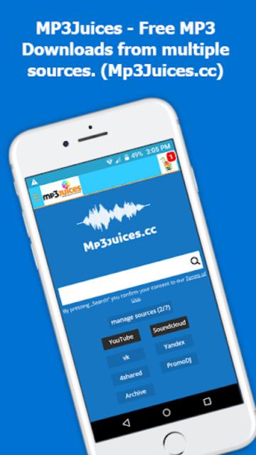 Mp3Juice - Free Mp3 Downloads screenshot 1