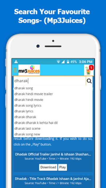 Mp3Juice - Free Mp3 Downloads screenshot 2