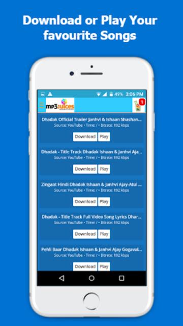 Mp3Juice - Free Mp3 Downloads screenshot 3